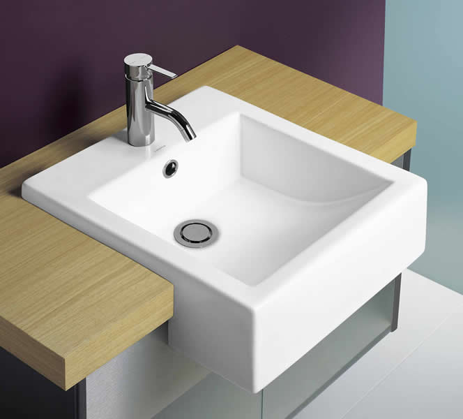 Caroma Sinks - Products - Caroma Liano Semi-Recessed Sink